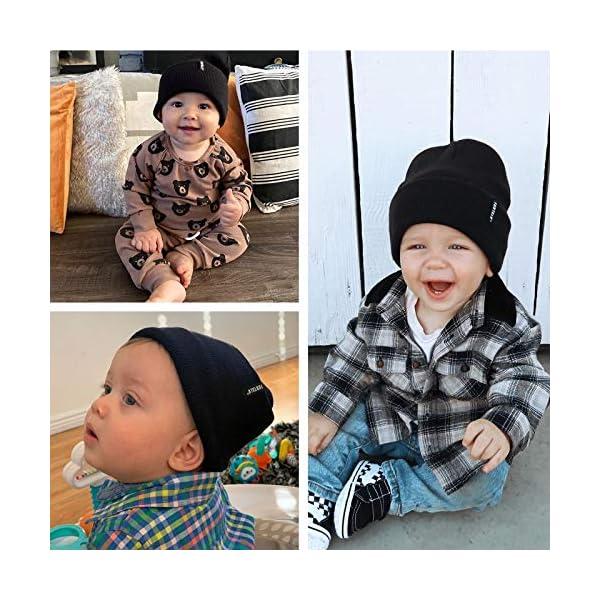 FURTALK Toddler Beanie for Boys Girls Baby Kids Beanies Knit Winter Hat