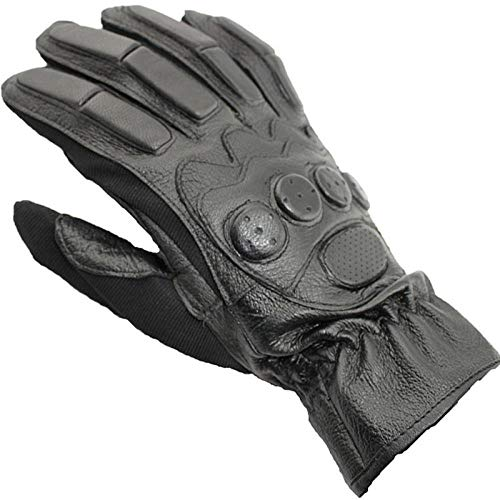 GUANAI Gant Full Finger Long True Gloves Motorcycle Sports Riding Fitness Gloves Special Forces Black L