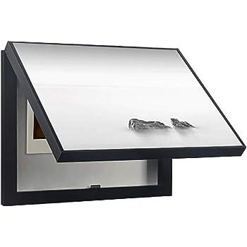 Cuadro de medidor decorativo de la cubierta de la tapa del tirador del paisaje en blanco