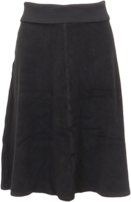Hard Tail Short Roll Down Terry Skirt