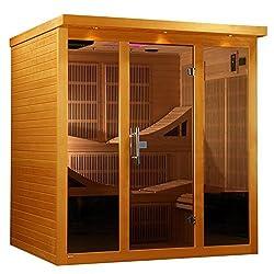 Golden Designs 6-Person Infrared Sauna