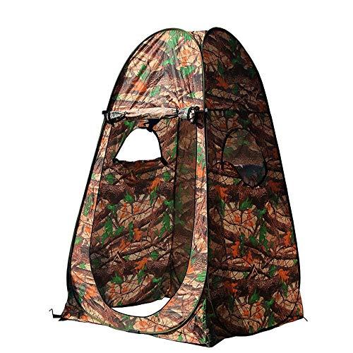 thematys Zeltschirm Jäger-Zelt Jagd-Zelt Sekundenzelt Campingzelt Angelzelt Camouflage in 2 verschiedenen Designs - Tarnzelt ohne Boden - perfekt für die Jagd im Wald Outdoor Camping (Style 1)