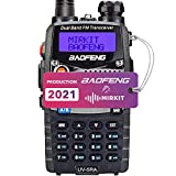 Baofeng Ham Radio UV-5RA 2020 Normal Power 1800 mAh Li-ion Battery Mirkit Edition and Lanyard Mirkit Ham Radio Operator,...