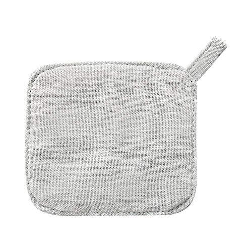 SLM-max Tasse à Eau Portable,sous-Verres Coaster Tapis de Vaisselle de Couleur Unie Simple en Coton et Lin Art Set de Table en Pot Tapis Isolant Rond pour Boissons Thé Tasse à café Tasse en Verre