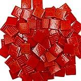 Armena 204150a96 Mosaiksteine zum Basteln Rot 260g 2x2 cm circa