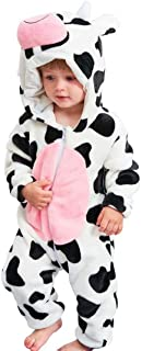 Baby Cow Costumes Unisex Toddler Onesie Pajamas Halloween Dress Up Romper 24-30 Months