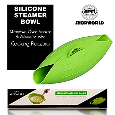 Vegetable Steamer | bread maker | Multi-Purpose |Fish Poacher | Healthy Cooking | Oven Roaster | BPA Free Microwave Cooking | Roasting bowl |Steam Oven Roaster | salad & Omelets