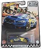 DieCast Hotwheels 2019 Subaru WRX STI, Boulevard [Blue]