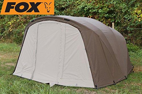 FOX Retreat+ Ripstop Ventec 2-Man EXT wrap - Überwurf für Angelzelt zum Karpfenangeln, Zeltüberwurf Zelt