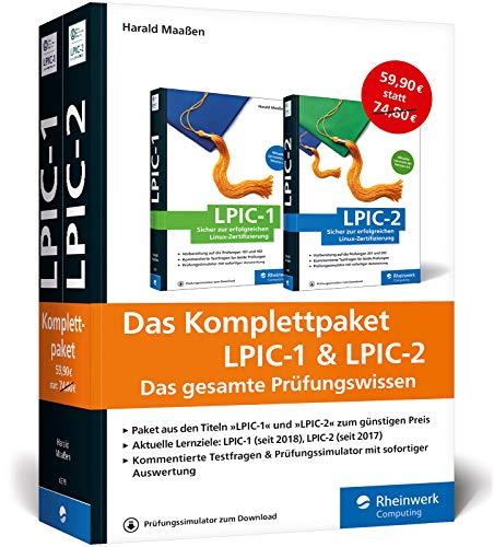 Das Komplettpaket LPIC-1 & LPIC-2: Umfassendes Wissen und Übungen zu den aktuellen Prüfungszielen (Ausgabe 2018)