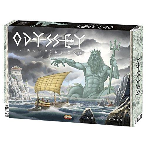 Devir - Odyssey La Ira de Poseidón, Juego de Mesa (BGODY)