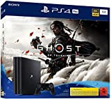 PlayStation 4 Pro - Konsole (1TB, schwarz) Ghost of Tsushima Bundle