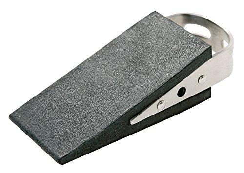 Alco 2854 Türstopper, ca. 5 x 3,5 x 13 cm, schwarz silber