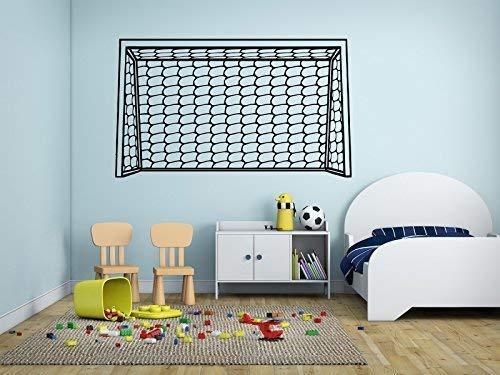 Fußballtor Posten Netz Schießen Übung Training Fußball Sport Ball 109 cm Breit X 56 cm (Nachricht mit Farbe Gebraucht) Hohe Kinderzimmer Baby Kinderzimmer Aufkleber Abbildung