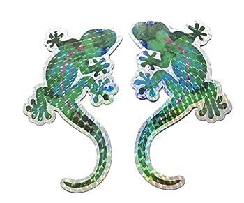 Gecko Screen Door Saver Magnets  6  x 4   Decorative Holographic Gecko Magnets  2 pcs/lot  for Lanai Screen Patio Door Magnets