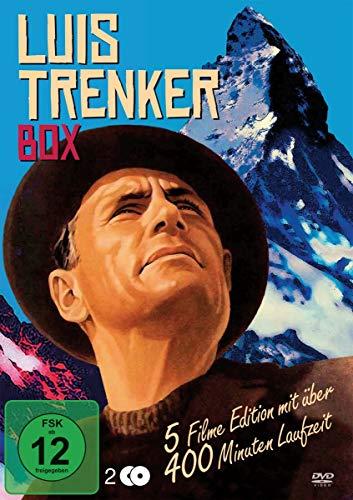 Die Luis Trenker Box : Der Sohn der weissen Berge - Liebesgrüsse aus dem Engadin - Der verlorene Sohn - Flucht in die Dolomiten - Der Rebell [2 DVDs]