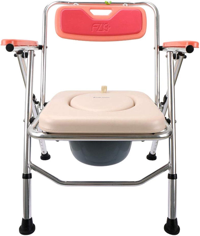 Faltender lterer Toilettensitz der schwangeren Frauen Badstuhl-Sitztoilette einstellbarer Sitz