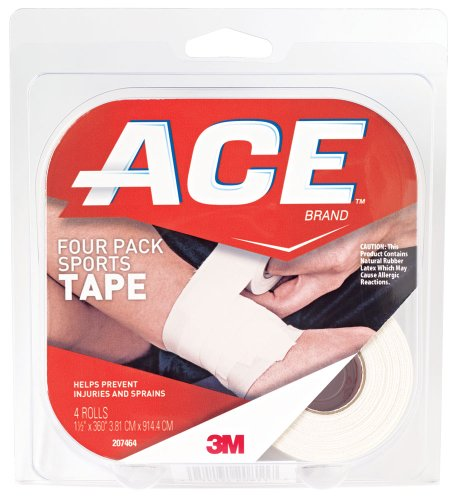 Ace Sports Tape 15 Inches X 10 Yards 4 Count