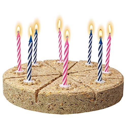 Schecker die Festtagstorte für den Hund - Diese Geburtstagstorte ist natürlich knusprig-hart gebacken - in 8 Stücke teilbar