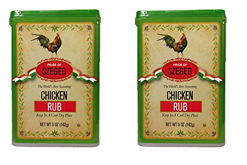 Szeged Chicken Rub Seasoning (szeged) 5oz - 2 Pack