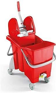 Ramon Hygiene 6480R Action-Pro Système de serpillère à double seau Rouge 30 l