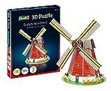Revell- Mulino a Vento Olandese 3D Puzzle, Colore Multi-Colour, 00110