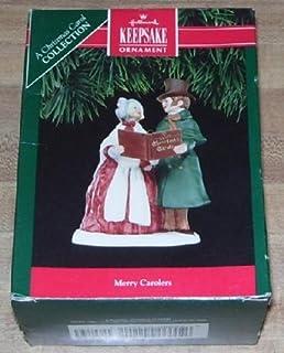 Hallmark Keepsake Ornament 1991 Merry Carolers A Christmas Carol Collection