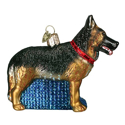 Old World German Shepherd Ornament
