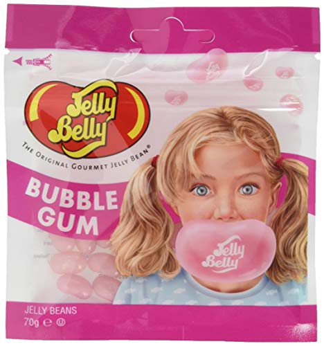 Jelly Belly Bubble Gum, Beutel, 1er Pack (1 x 70 g)