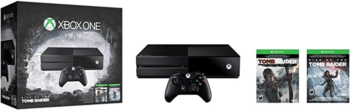 Best Xbox One 1TB Console : Rise of the Tomb Raider Bundle Review