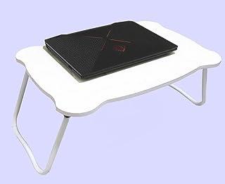 ちゃぶ台 パソコンテーブル 折りたたみ ベッド用 食事 勉強 (ホワイト1)