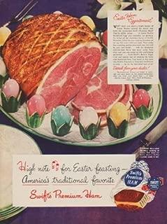 1949 Swift's Premium Ham Ad