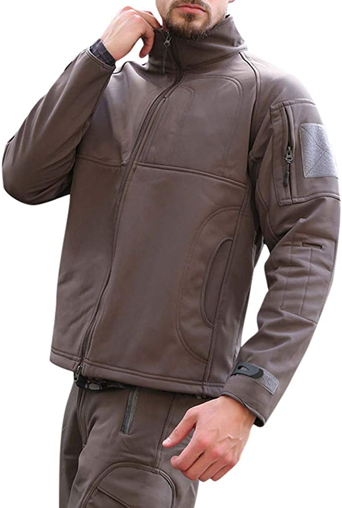TOPUNDER Men's famous Autumn and Winter Sports Soft Jacke Spring new work Shell Outdoor