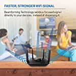 Linksys tri-band wifi router for home (max-stream ac2200 mu-mimo fast wireless router), black 21 provides up to 1,500 square feet of wi-fi coverage for 15+ wireless devices works with existing modem, simple setup through linksys app enjoy 4k hd streaming, gaming and more in high quality without buffering