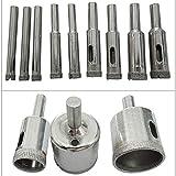 Accesorios de herramientas Diamond Bright Bits Beet de vidrio Tile Hollow Core Extractor Removedor de herramientas Sierras de orificio para cerámica de vidrio Granito porcelana 75-200mm Herramientas