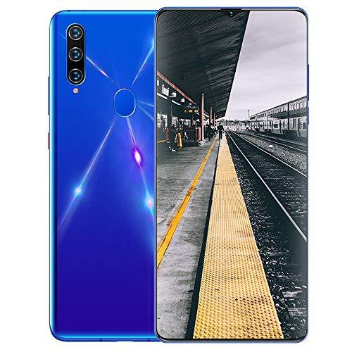 Smartphone ohne Vertrag 4G A91 (2020) - 6,7 Zoll HD, 4800mAh Akku, 16MP-Kamera Octa-Core 4GB RAM/32GB ROM, 128GB Erweiterbar Dual SIM Android Handy,Blue