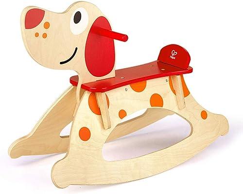 aquí tiene la última FRF Troyano- Los Niños Niños Niños de Interior y al Aire Libre de Madera Maciza Cachorro mecedoras, bebé bebé troyano Juguetes para bebés (Color   Wood Color, Talla   67.6x49.3cm)  para proporcionarle una compra en línea agradable