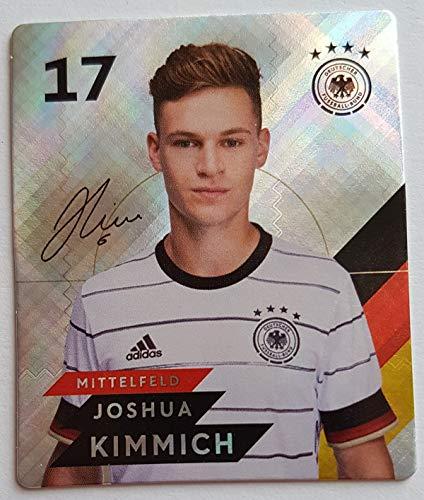 Rewe EM 2020 DFB - Sammelkarten - Glitzer - Joshua Kimmich - Nr. 17 - Zusatzbonus 1 toysagent Sonderkarte