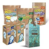 FLOPP - Pack Limpieza Sostenible y Vegano en Cápsulas: 1 Detergente Eco, 1 Perfume Ropa,...