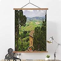 大人と子供たちの風景ダイヤモンドの絵画、壁の芸術のぶら下がっている絵画と家の壁の装飾 A- 40*60cm/16*24in
