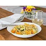 Corelle Livingware Winter Frost White 20-oz Pasta Bowls, Set of 6
