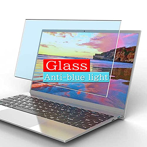 VacFun Filtro Luz Azul Vidrio Templado Protector de Pantalla, compatible con TENKU SlimBook 14 14' Visible Area Cristal Screen Protector(cobertura no completa)
