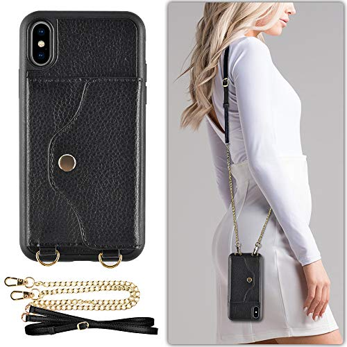 Top crossbody iphone xs max holder for 2021