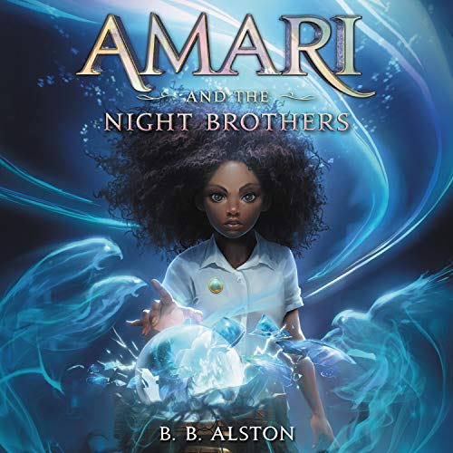Couverture de Amari and the Night Brothers