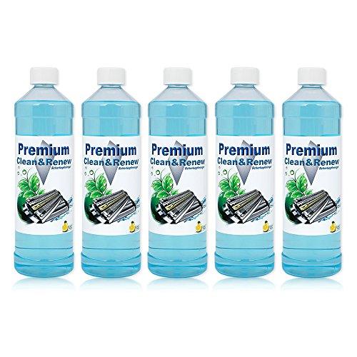 5 Liter Premium Scherkopfreiniger zum Nachfüllen von Braun Clean&Charge Stationen der Serie: 9070cc / 9075cc / 9090cc