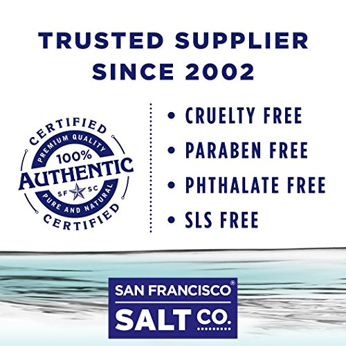 Muscle Soak Bath Salts - 10 lb. Bulk Bag by San Francisco Salt Company