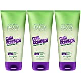 Garnier Hair Care Fructis Style Curl Scrunch Controlling Gel for Curly Hair, 3 Count
