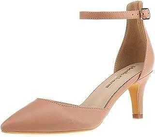 Women's Heel Pumps Stilettos Pointed Toe High Heel Strappy Heels Dress Pump Shoes