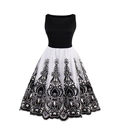 VERNASSA Vestidos de Noche Cortos de Las Mujeres Vestidos de Fiesta de Encaje, Vestidos de Dama de Honor de Fiesta de...