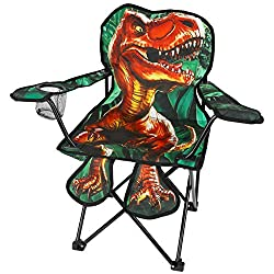 3. Toy-To-Enjoy Outdoor Kids Foldable Dinosaur Chair